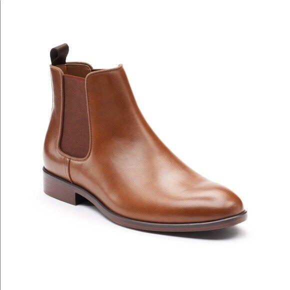 Men's Apt. 9 Edgewood Chelsea Boots Sizes  8, 13 color  Cognac MSRP