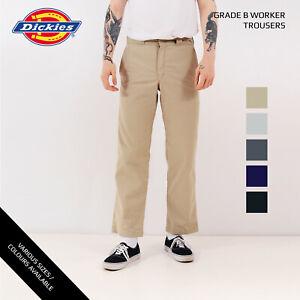 Dickies-Pantalones-de-trabajo-Trabajador-Pantalones-Grado-B-W30-W32-W34-W36-W38-W40