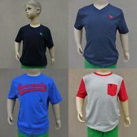 ABERCROMBIE KIDS BOYS T Shirt NWT SIZE S M L XL red blue white gray orange