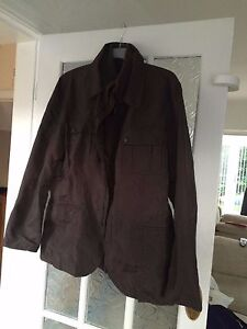 Mens-Brown-Jacket-size-Approx-44-Chest-By-Zara