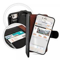 Book-Style Tasche Hülle Etui Cover abnehmbarer Schale f. Samsung Galaxy S7 G930F
