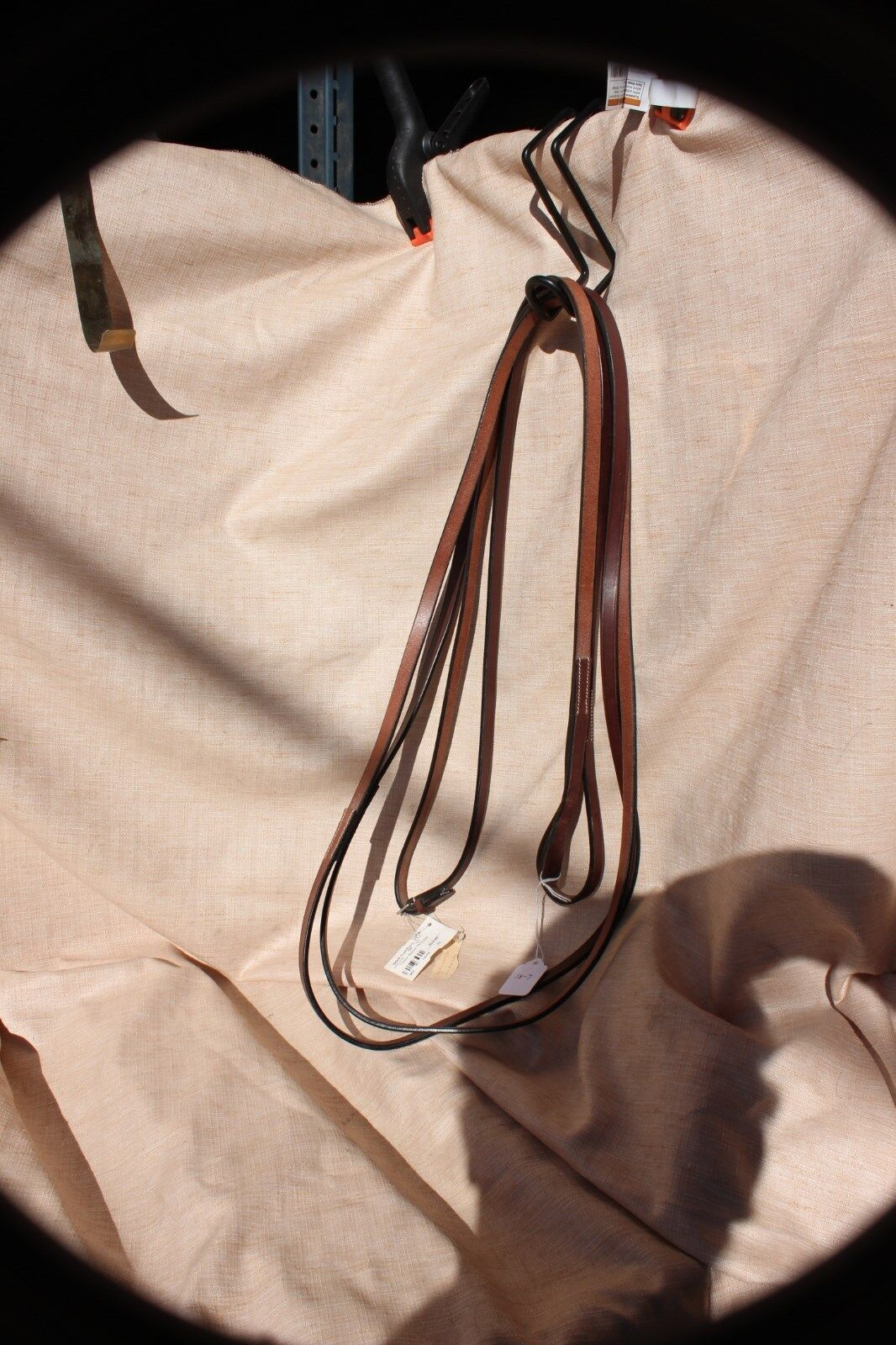 18-7 New from B&B Saddlery draw reins with loop 84  by 1 2  was 163.95
