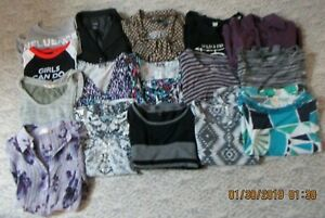 Tops Lot 21 Woman's Large Miss's Dressy Junior Altre Forever taglie p4zqw8
