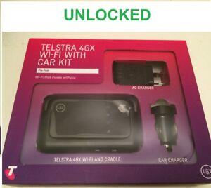 New-Unlocked-Telstra-4GX-ZTE-MF910V-Wi-Fi-Modem-with-Car-Kit-Optus-Vodafone