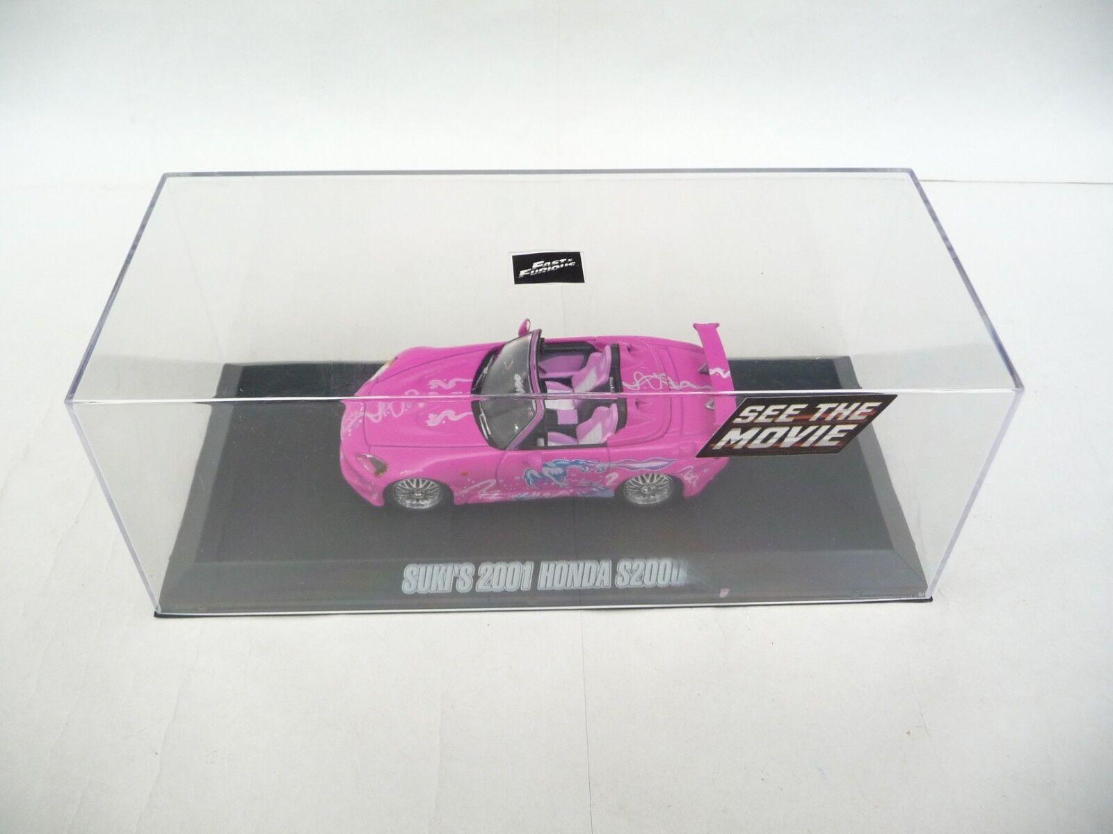 Green Light 1 43 Honda S2000 2001 Pink 2 Fast 2 Furious GL86225