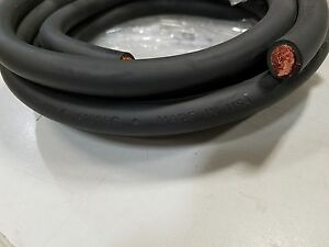 30/'  1//0 AWG WELDING//BATTERY CABLE BLUE 600V MADE IN USA COPPER EPDM JACKET
