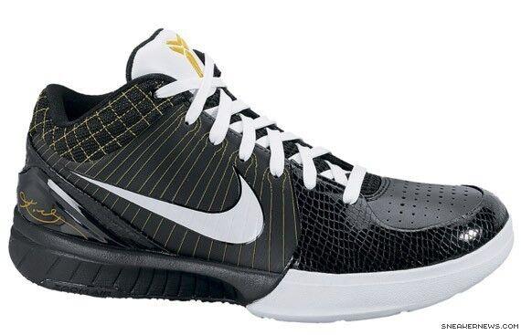 Nike Zoom Kobe 4 IV Del Sol Size 13.5. 344335-011 Jordan FTB Prelude