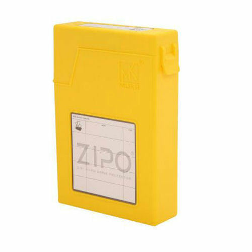 Nuttig Mukii Zio-p010-yl Zipo 3.5inch Hdd Protection Storage (yellow)