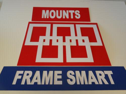 Cadre Smart Pack De 10 blanc photo//image Mounts Taille 9x7 pour 7x5 pouces