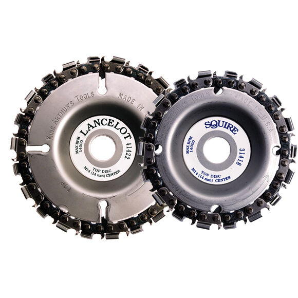 LANCELOT-SQUIRE SAW CHAIN DISC COMBO  72212  FREE SHIPPING