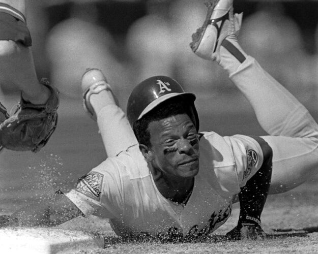 Rickey Henderson Oakland Athletics 8x10 Photo AALB006