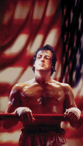 Sylvester Stallone movie poster print 2 Rocky 1976