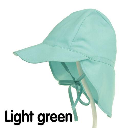 New Baby Boys Girls Kids Summer Outdoor Sun Hat Beach Hat Legionnaire Cap