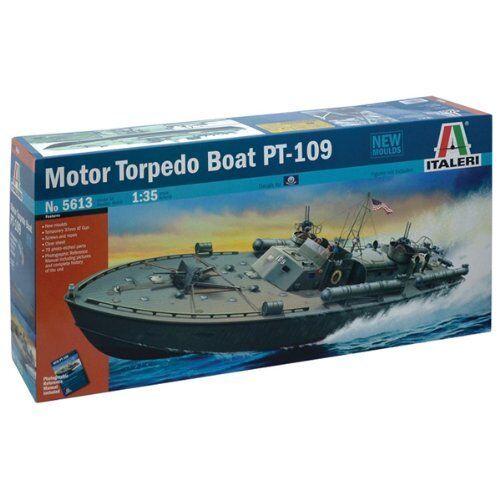 Motor Torpedo Boat PT-109 Plastic Kit 1 35 Model 5613 ITALERI
