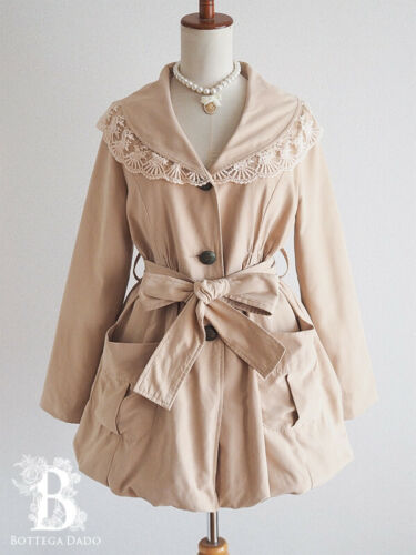 🌹Ank Rouge🌹Sailor Scalloped Trench Coat Balloon