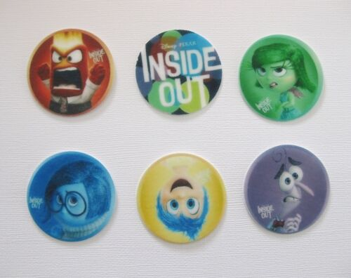 PRE CUT 12 EDIBLE RICE PAPER WAFER CARD INSIDE OUT CAKE CUPCAKE TOPPERS