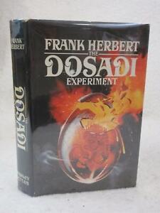 Frank Herbert THE DOSADI EXPERIMENT 1977 G. P. Putnam's Sons, NY Second Printing