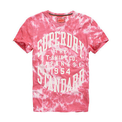 Superdry T-shirt japanese Pour homme Rouge