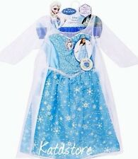 "Disney Frozen Elsa Light-up Musical Dress Costume Sings ""Let It Go"" Size 7-8"