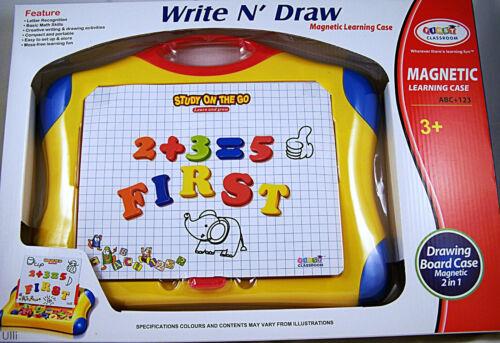 Nr262.Magnet und Zeichentafel in einem für Kinder ab 3 Jahren Toi Toys NEU OVP