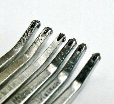 5 JEWELLERS BEAD GRAIN TOOL JEWELLERY MAKING 0.50mm