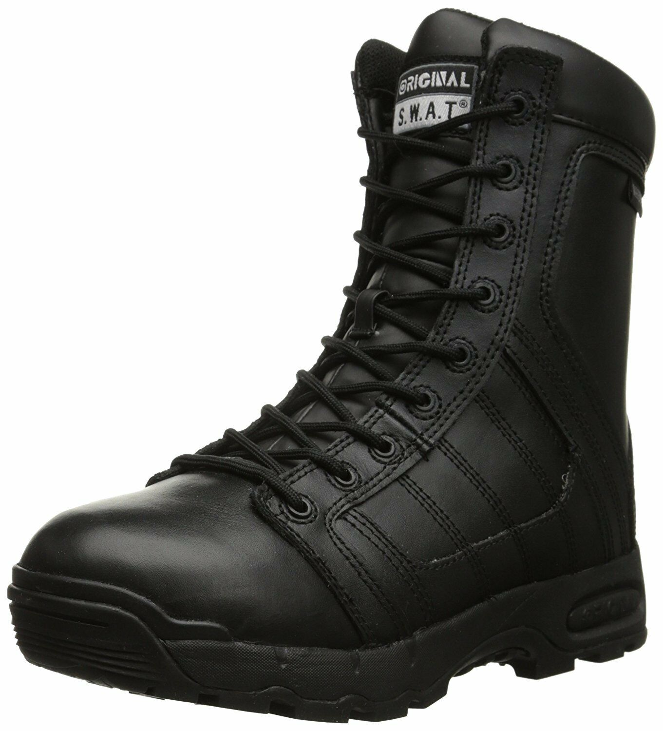 Original S.W.A.T. 123401 Hombres Aire 9 in (approx. 22.86 cm) Impermeable sidezip's Metro bota, Negro