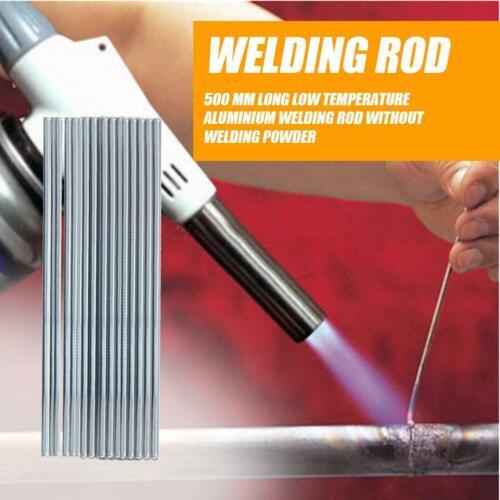 10pcs 500mm Low Temperature Aluminum Welding Rod Electrodes Welding Sticks hs