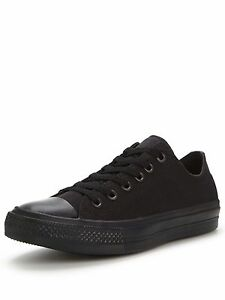 Uk Low Black Eu As 76 38 Salex Js34 black Ox Chuck Taylor Converse 5 5 vwSRpqI0x