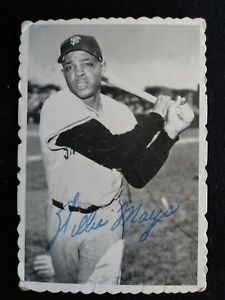 Details About 1969 Topps Deckle Edge Baseball Card 33 Willie Mays San Francisco Giants