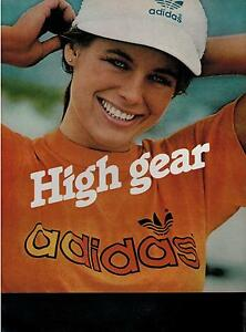 1982 Adidas Fashion Soccer Magazine Print Ad 2 Pg Ebay