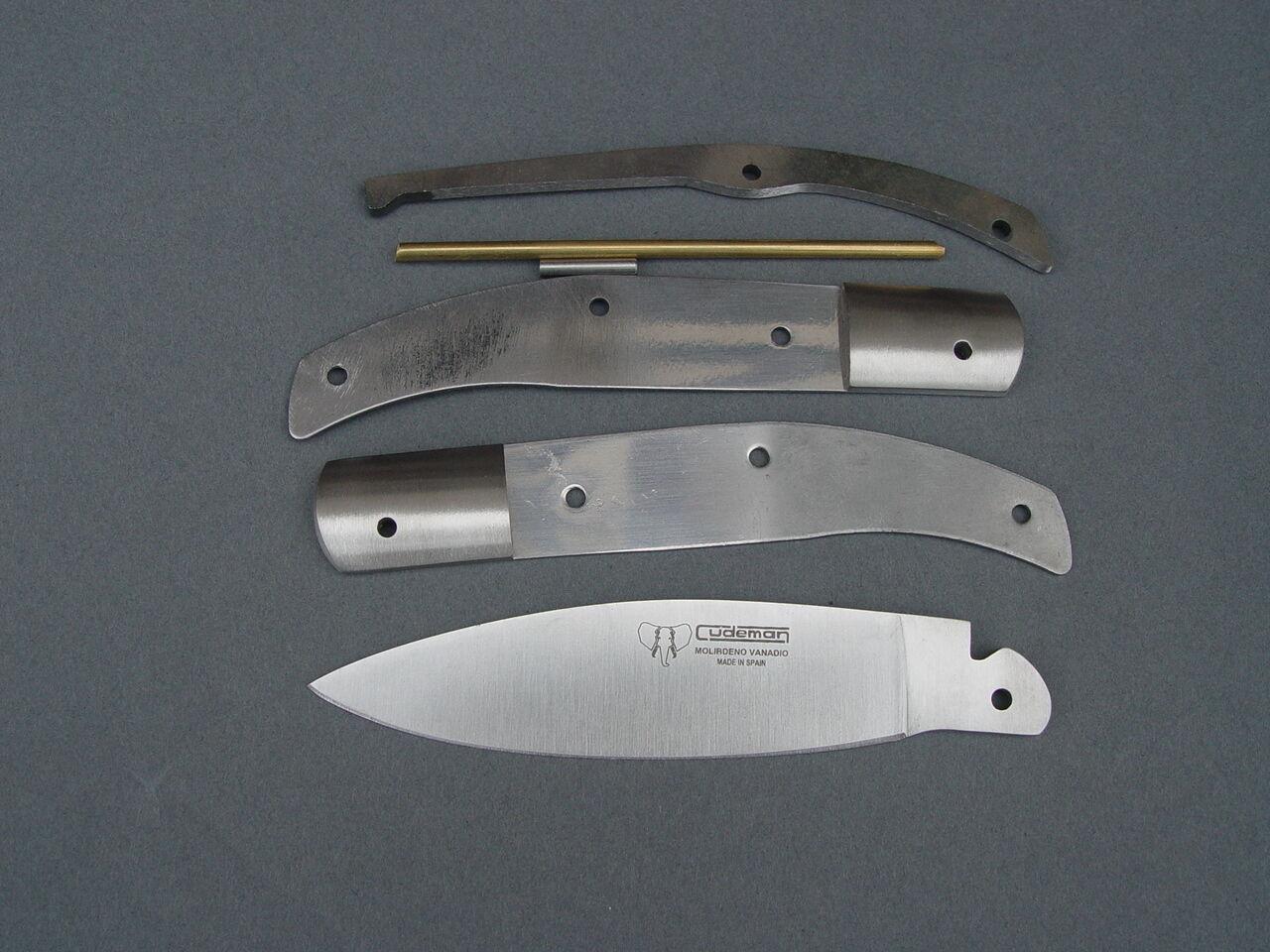 Couteau de poche Kit cudemann 417 417 417 Messerbau 03a0f8