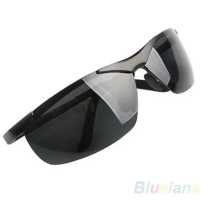 Mens Police Style Metal Frame Polarized Sunglasses Glasses Eye Excellent B82A
