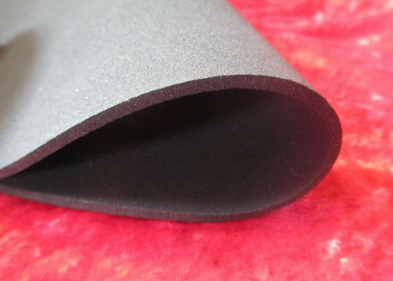 Set of 2 U.K. Made Black Soft Foam Turntable Mat - 294mm. Diam Improved Sound
