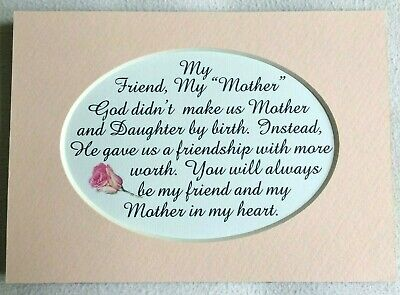 My Mother In Law My Friend God Made Stepmother Heart Love Verses