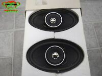 Bmw Coaxial Design Speaker Speakers Pair 2 Oval 88 88 1 600 104 20 10 Watt Rms 8
