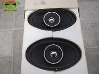 Bmw Coaxial Design Speaker Speakers Pair 2 Oval 88 88 1 600 104 20 10 Watt Rms 8