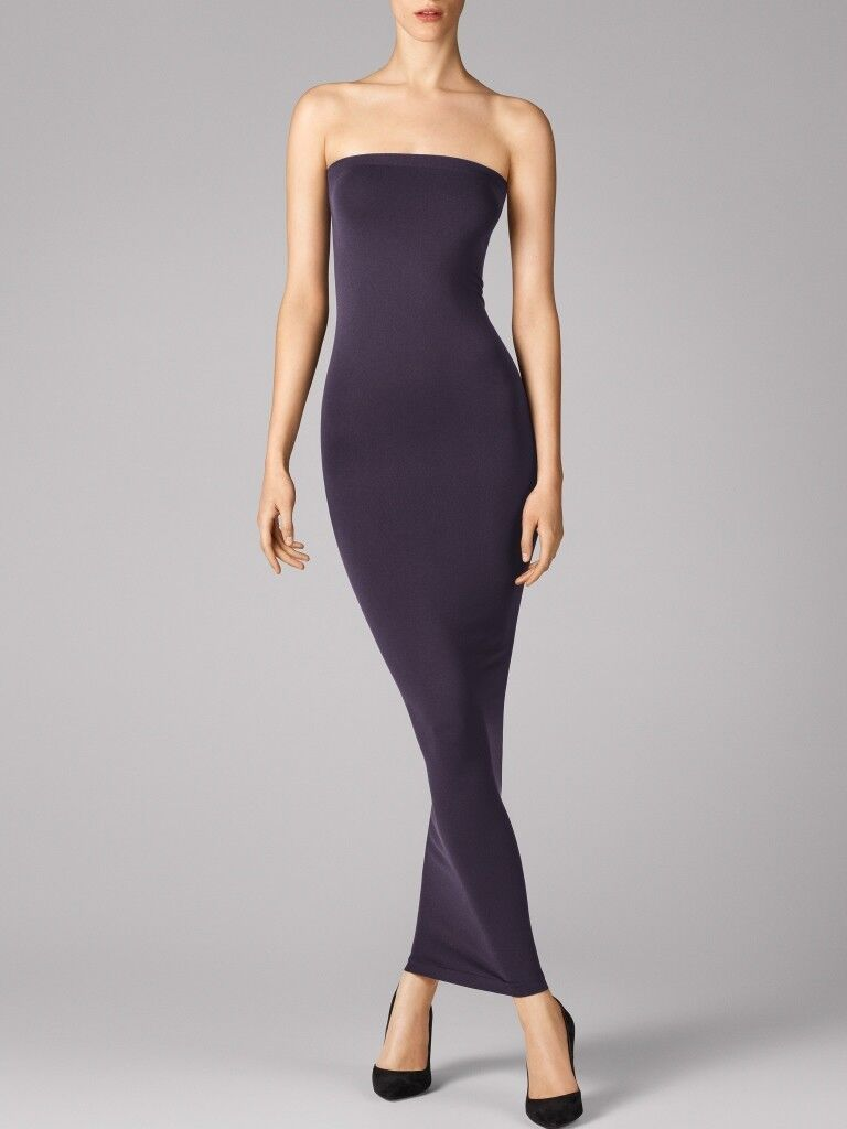 WOLFORD FATAL TUBE DRESS in Nightshade, Size  M  Ret  215 New in Box Tags