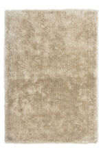Tapis À Poils Longs Fait main Coton Shaggy supersoft Sable 120x170 cm