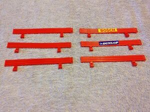 6 X Scalextric Barriers C274-030-afficher Le Titre D'origine Dessins Attrayants;