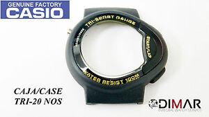 Boites, étuis et remontoirs pour montre VINTAGE CASE/CAJA  CASIO TRI-20 NOS
