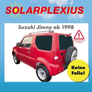 16 cm Bremslicht ab Bj 98-bis 18 Auto Sonnenschutz fertige passgenaue Scheiben T/önung Sonnenblenden Keine Folien Vorsatzscheiben Suzuki JIMNY mit kurzem 3