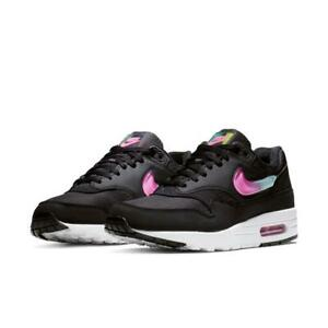64a320382c NEW 2019 $120 NIKE AIR MAX 1 SE JELLY PACK BLACK/BLUE/FUCHSIA AO1021 ...