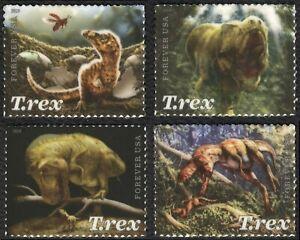#5410-5413 Tiranosaurio Rex, Individuales, Nuevo Cualquier 5=