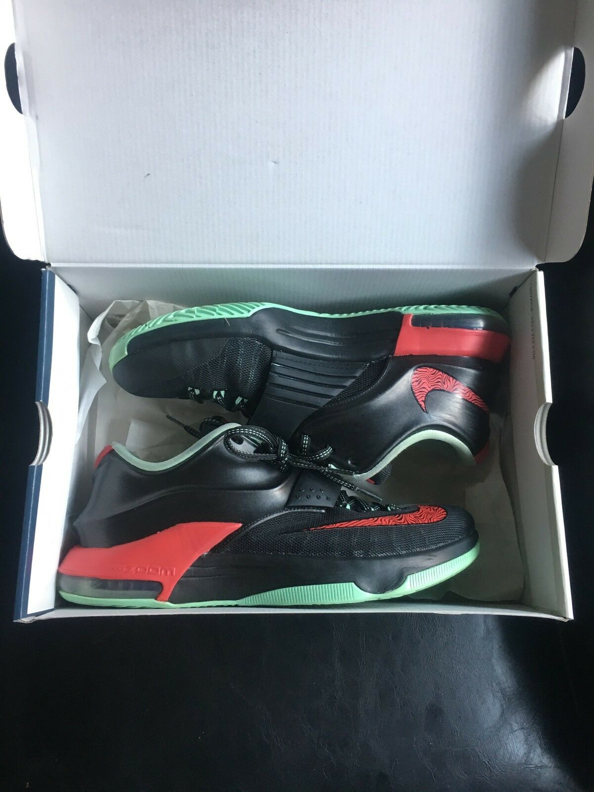 Nike KD 7 Bad Apples   Yeezy color way 653996-063 Kevin Durant VII Size 9