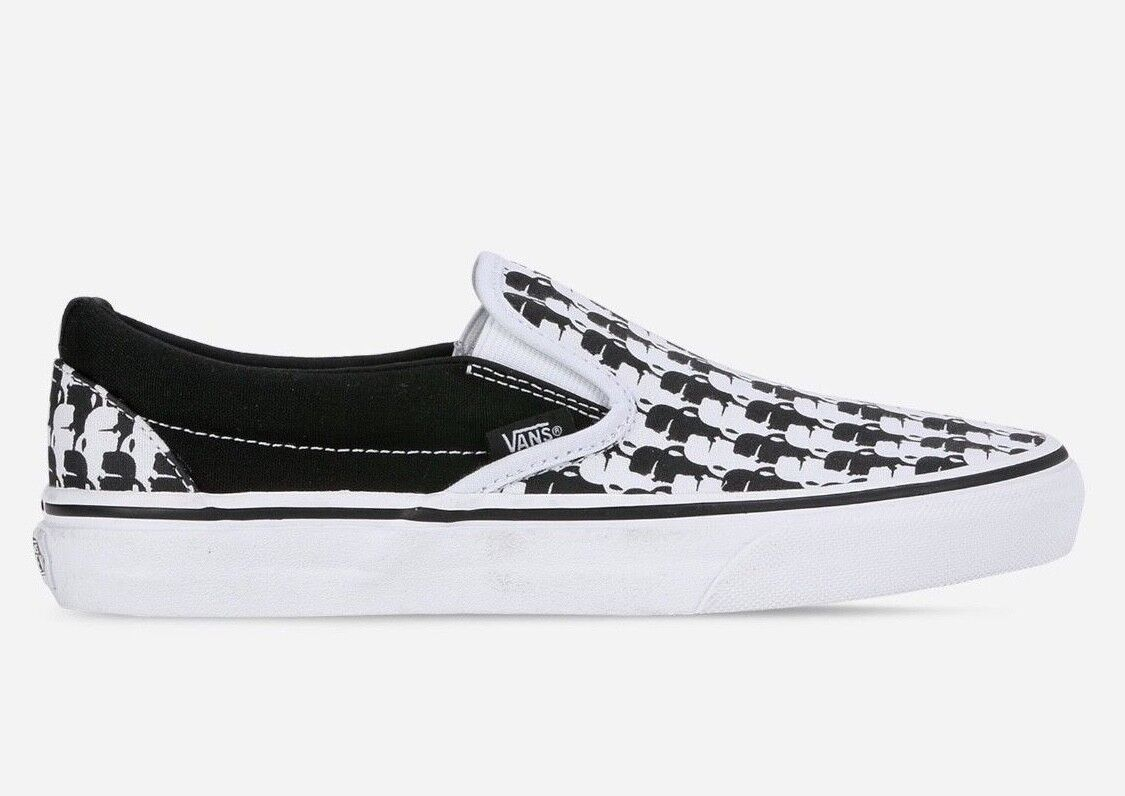 Neue vans x karl lagerfeld classic slip-on (6,0) us - mens größe (6,0) slip-on us Damenss sz (7,5) f8bff5
