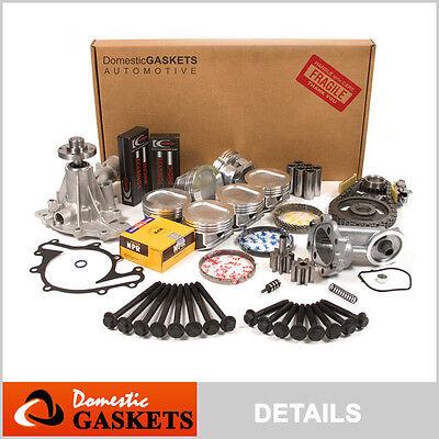 Engine Rebuild Kit Fits 98-00 Ford E-150 Econoline Club Wagon 4.2L V6 OHV 12v