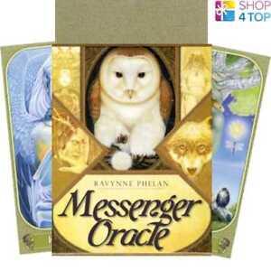 Messenger-Oracle-Cards-Deck-Ravynne-Phelan-Esoteric-Telling-Blue-Angel-New