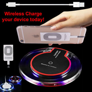 New-Qi-Wireless-Fast-Charger-Dock-Charging-Pad-Receiver-For-iPhone-5-6-6S-7-Plus