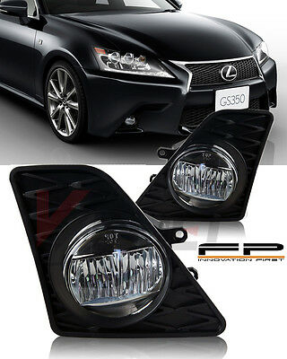 SMD LED Fits 2013 2014 15 Lexus GS350 2015 GS450h F-Sport Bumper Fog Lights Left+Right Pair w//Switch Kit
