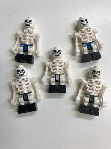 LEGO SKELETON MINIFIGURE Lot Castle Army Pirate